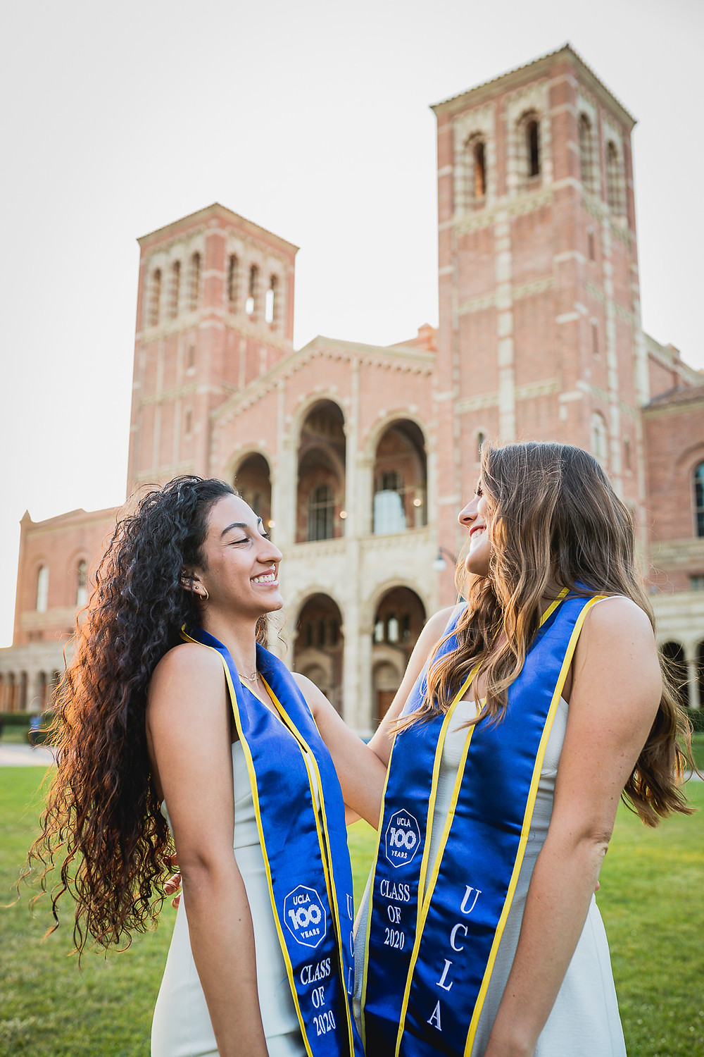 Jocelyn, Dominique, Marina, Joanna, and Nicole | UCLA Graduation Photos Royce Hall