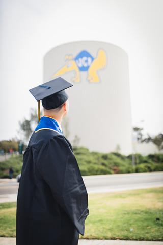 UCI Graduation Photos Water Tower 1.jpg