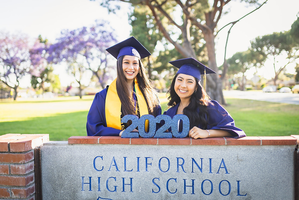 California High School Senior Photos | Zoie and Mariah 5