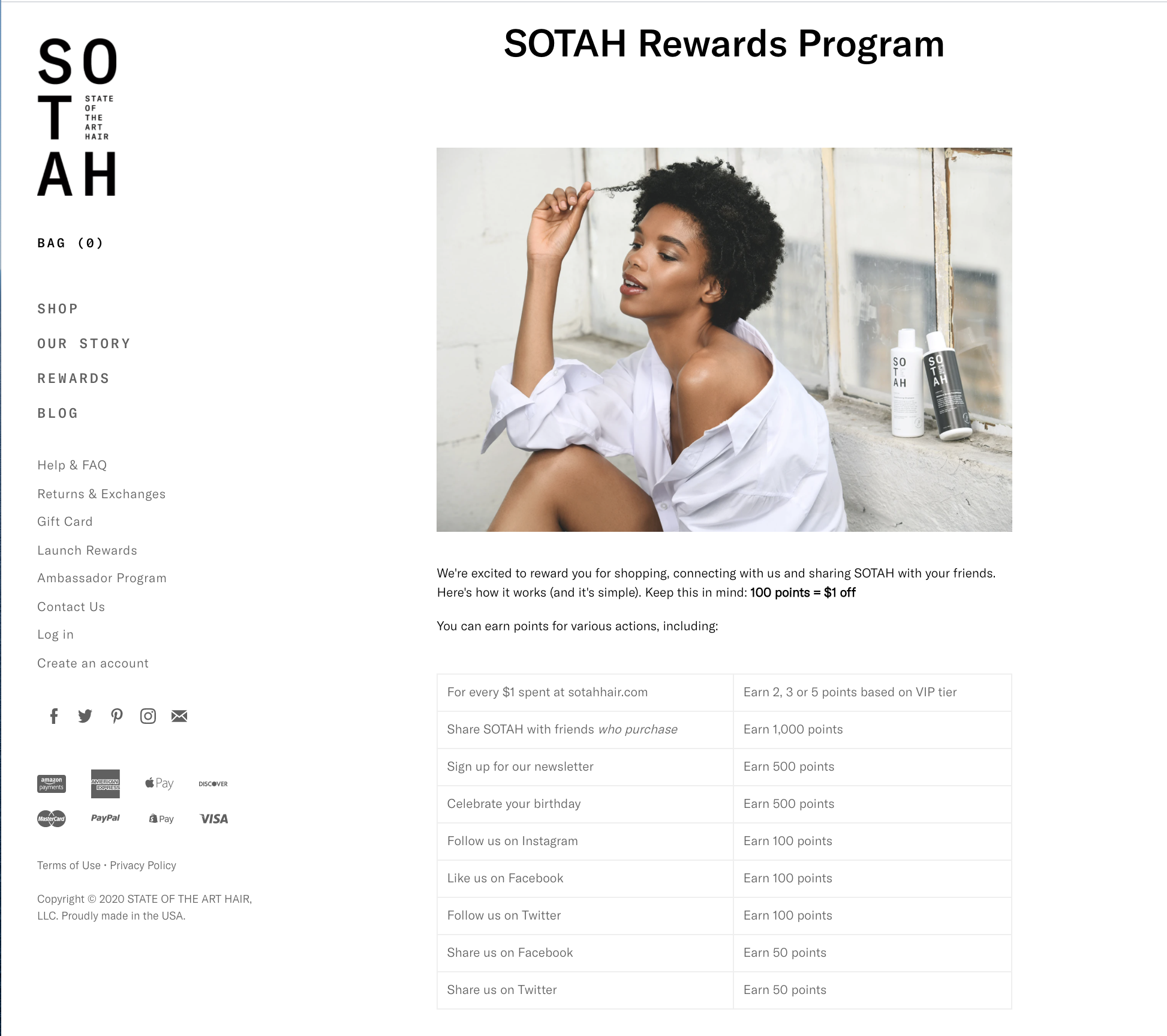 SOTAH company launch