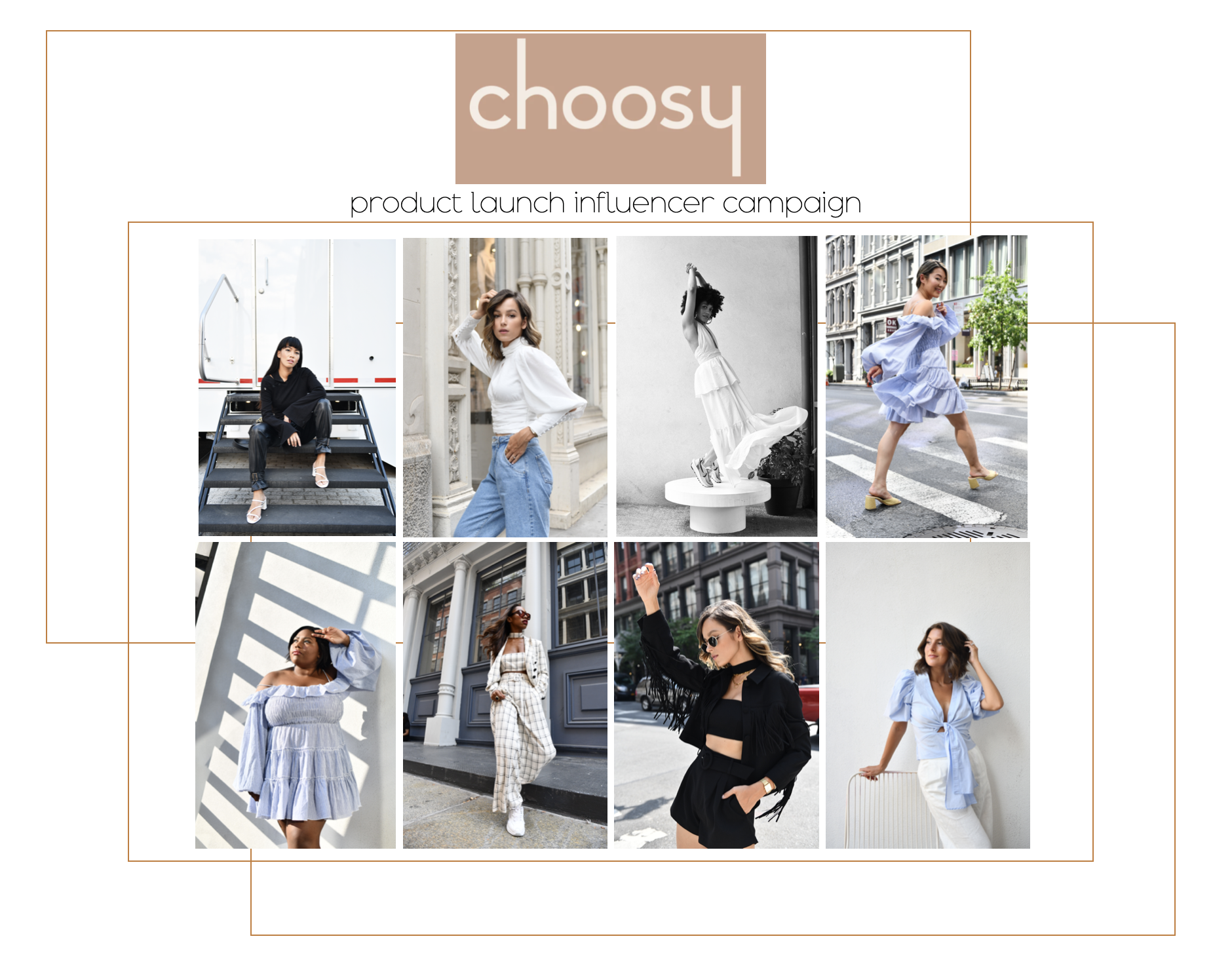 Get Choosy Influencer campaign