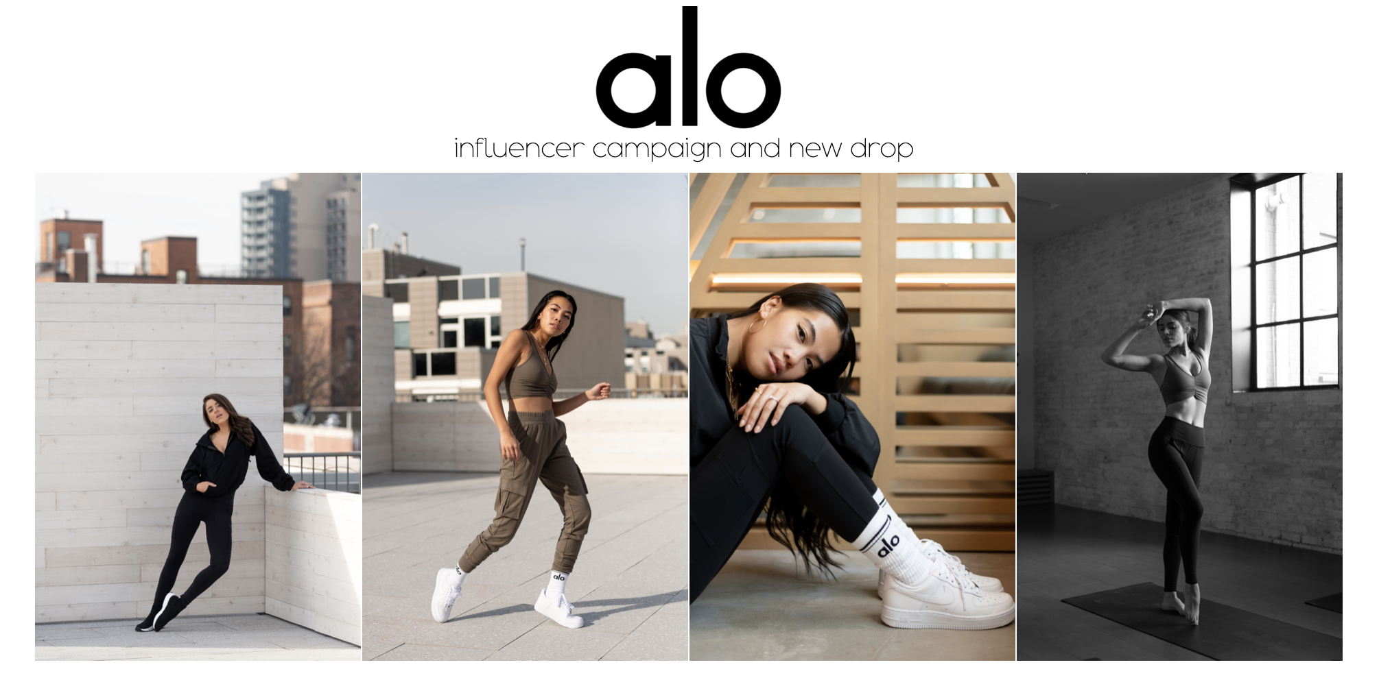 Alo Yoga influencer product launch