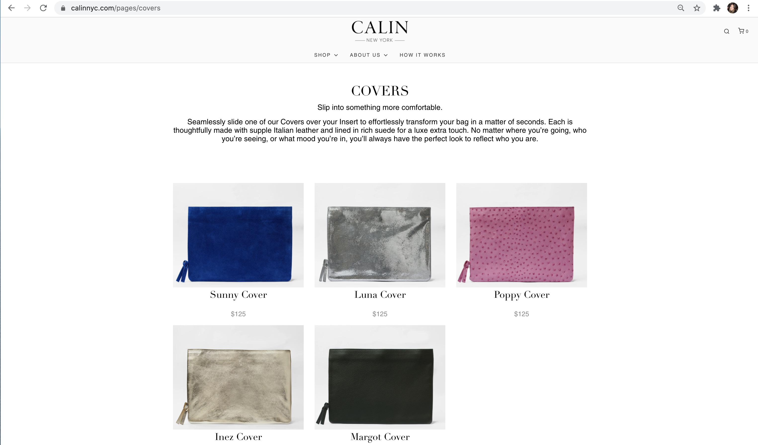 Calin NYC product launch