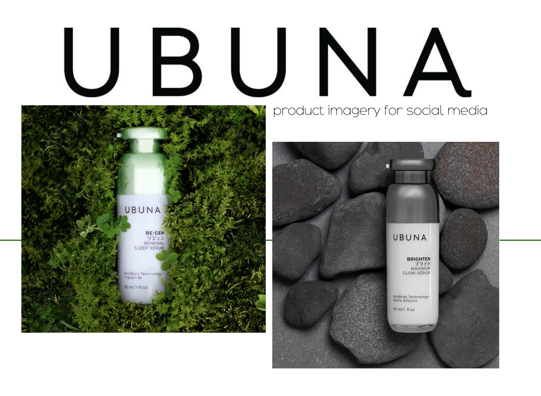 Ubuna product imagery
