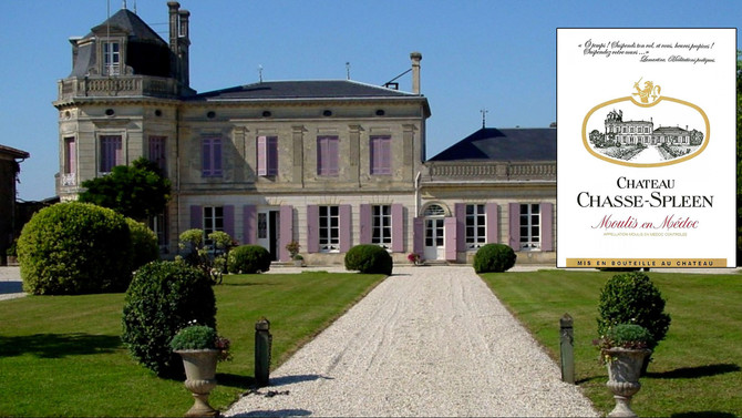 Château Chasse Spleen 1988