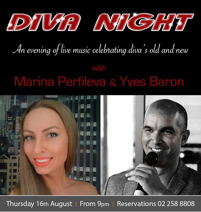 Diva Night at Blend Bistro