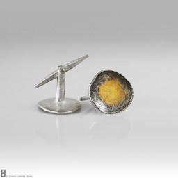 A Drop of Gold Cufflinks