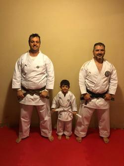 Sensei Fábio, Gabriel e Rafael