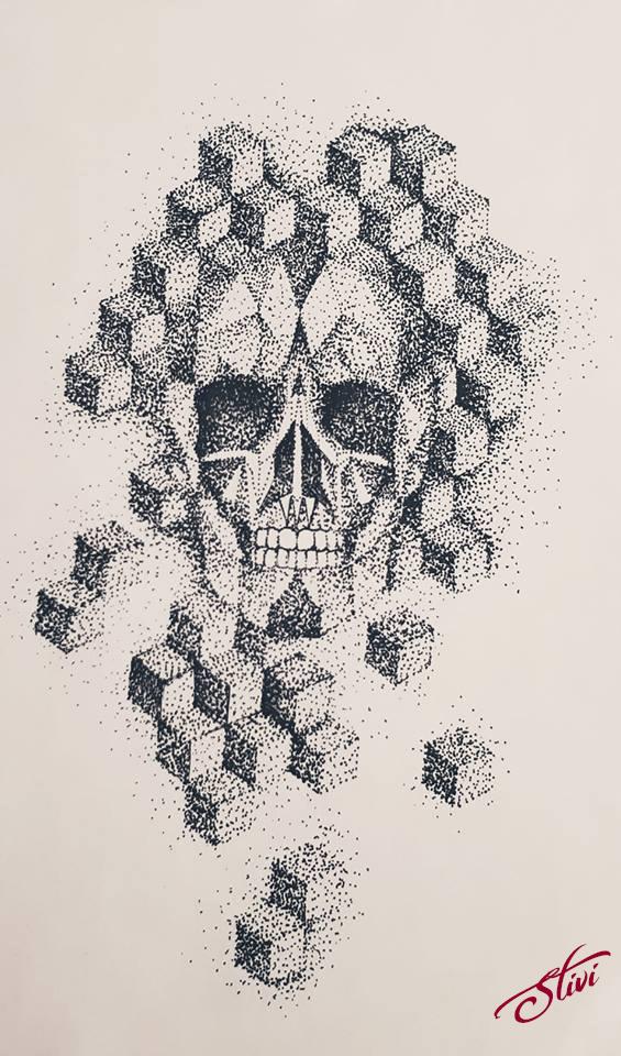 Skull dots