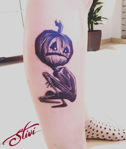Jack O'Lantern Tattoo