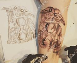 Raven Tattoo