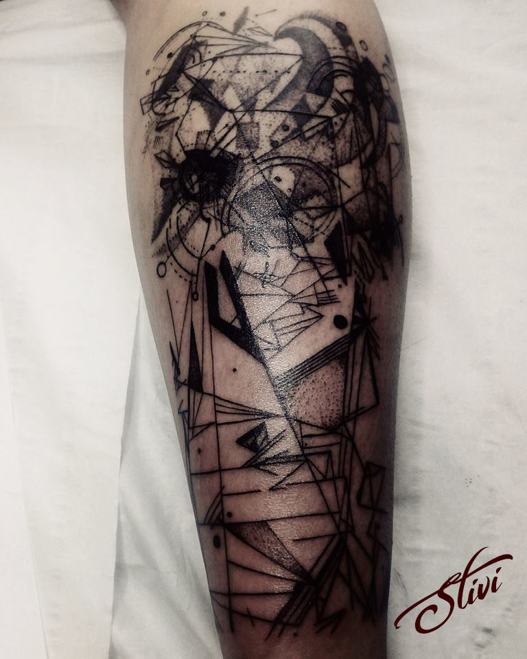 Abstarct Tattoo
