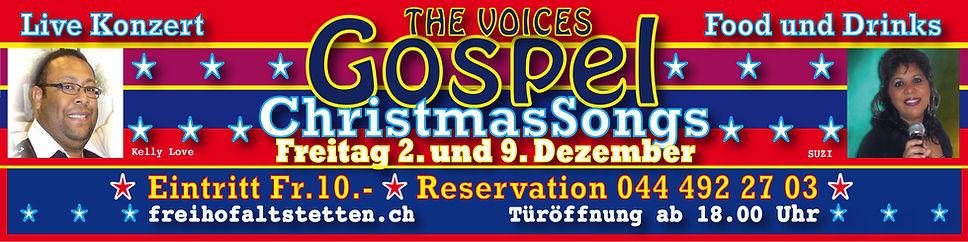 Gospel & Diner im Freihof, Gospel-Konzert im Freihof