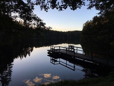 「森、湖、サウナ」