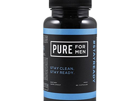 Pure For Men Capsules (60 capsules One Month Dosage, *Read description)