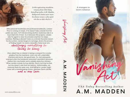 ICYMI – Vanishing Act is back with new cover!