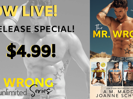 The Mr. Wrong Series is now in a boxed set!