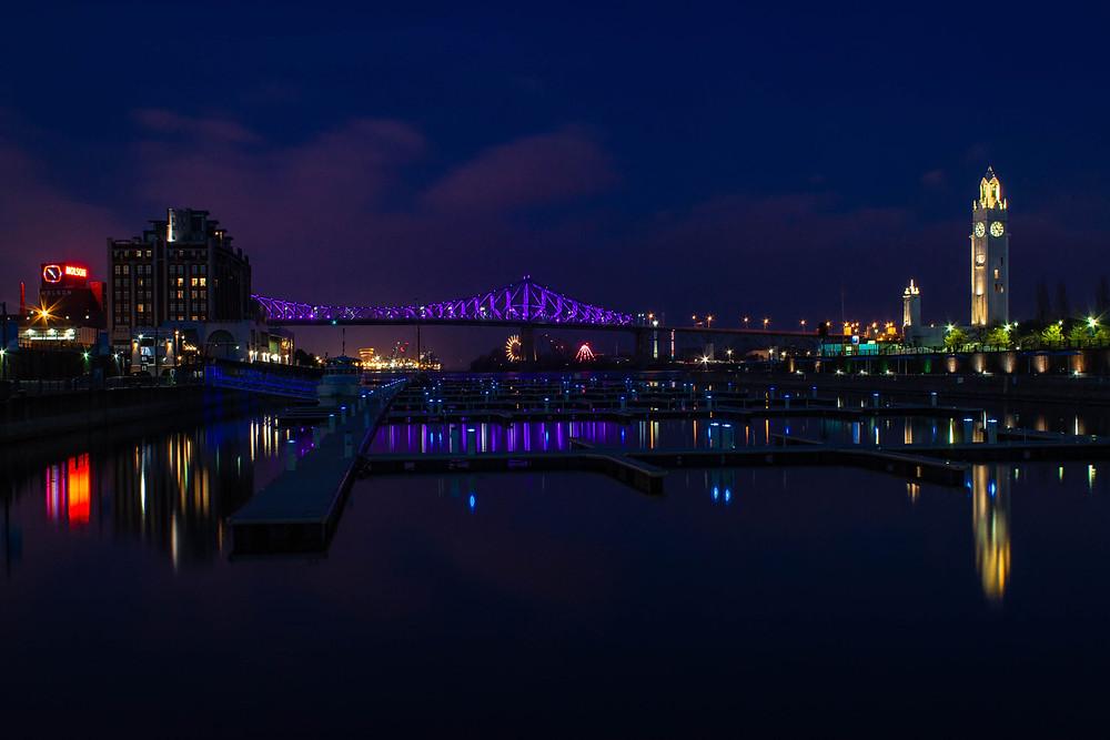 Jacques Cartier Bridge, Clock Tower Quay, Old Port
