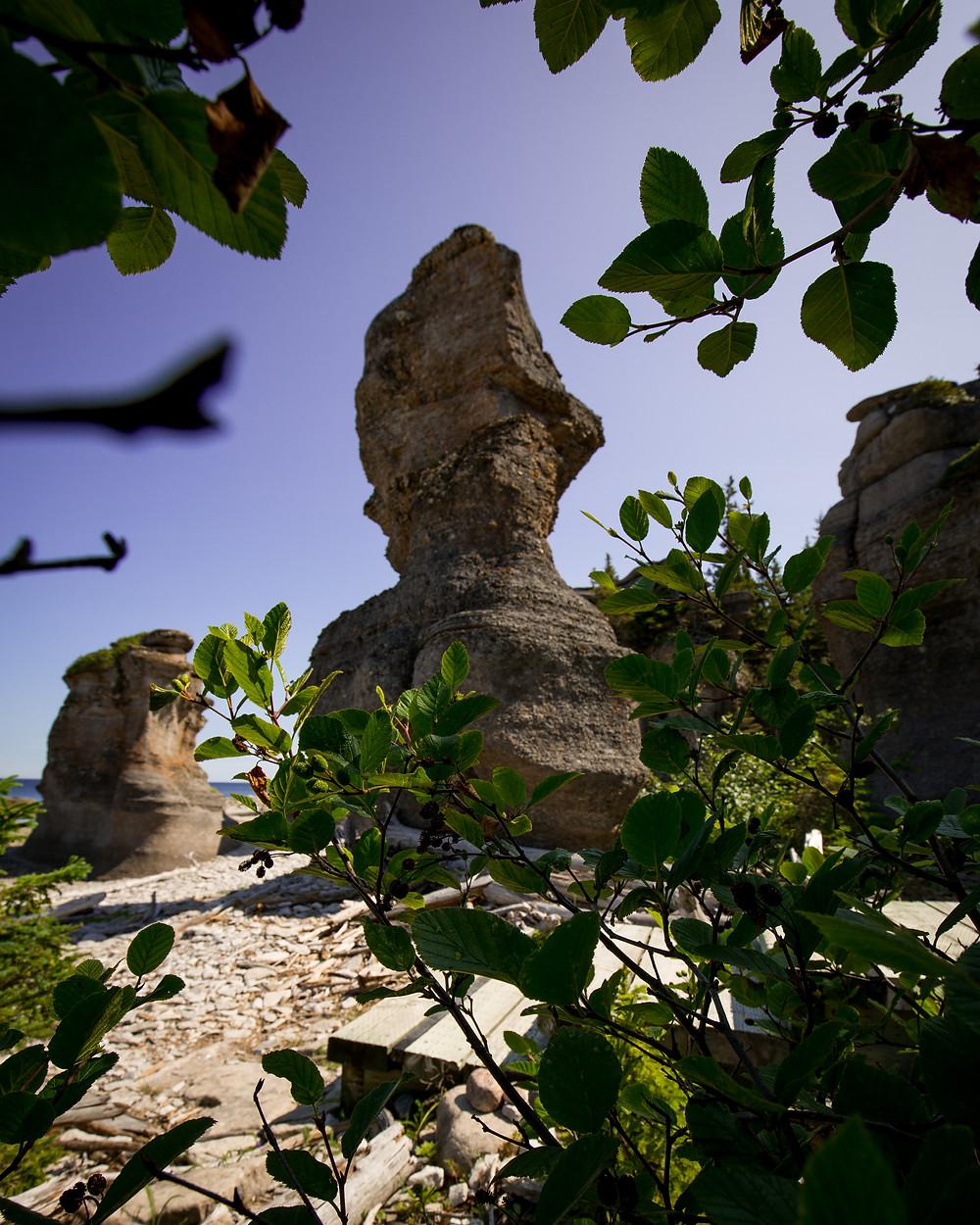 Île Niapiskau Rock