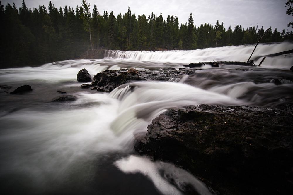 Dawson Falls, BC