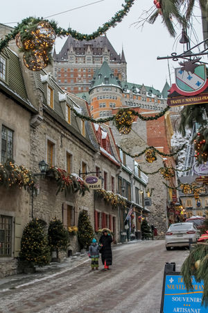 Stroll in Old Quebec