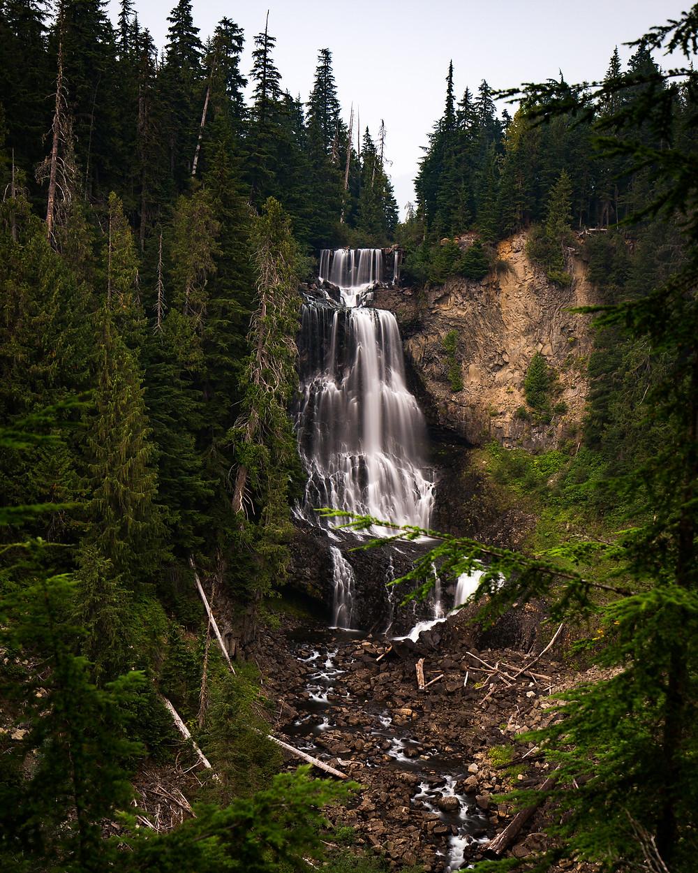 Alexander Falls, British Columbia