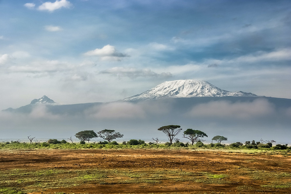 View of Kilimanjaro, Kenya