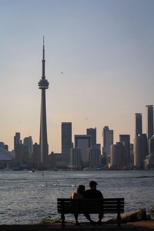 Romantic Toronto Skyline