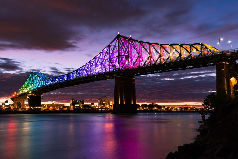 Pont Jacques Cartier, Ile Sainte-Helene