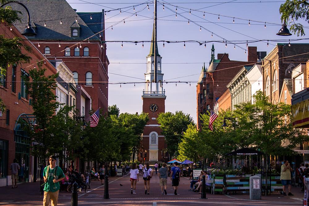 Church Street Marketplace, Burlington, Vermont