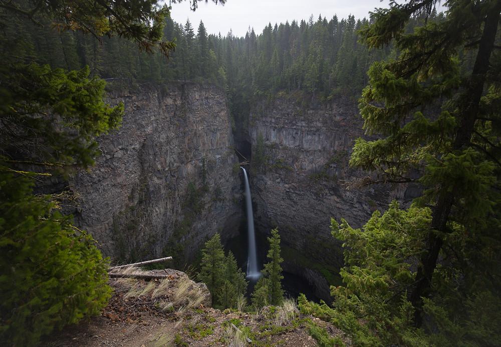 Spahat Falls, British Columbia