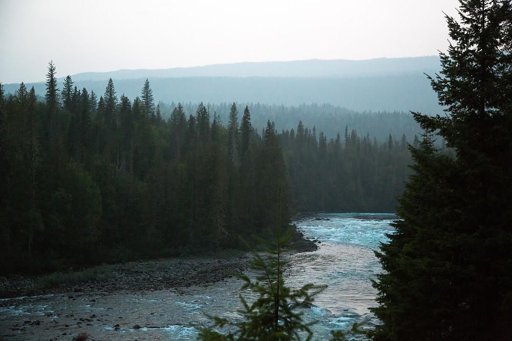 Bailey's Chute, Wells Gray Provincial Park