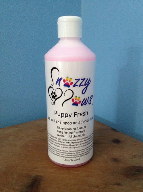 Puppy Fresh 2 in 1 Shampoo and Conditioner