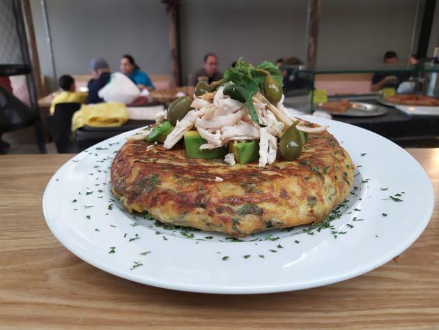 Ya probaste nuestra tortilla de Ajiaco, mestizaje en estado puro
