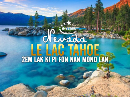 Lak Tahoe, nan vil Nevada etazini.