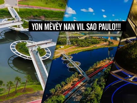 Friedrich Bayer Bridge yon pon ekstraòdinè pou pyeton ak ...