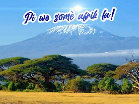 Kilimanjaro, Pi wo montay an afrik.