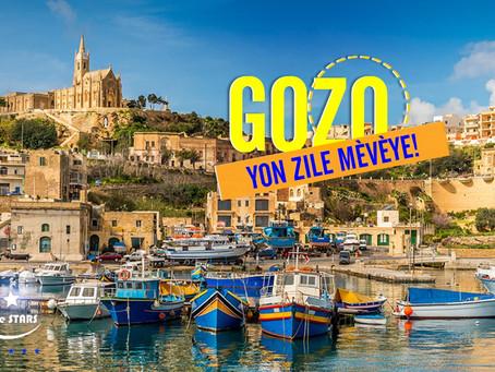 Gozo, yon trè bèl zile ki pa sispann sedwi vwayajè ak peyizaj li.