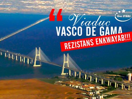 Pon Vasco de Gama yon reyalizasyon remakab nan peyi pòtigal.