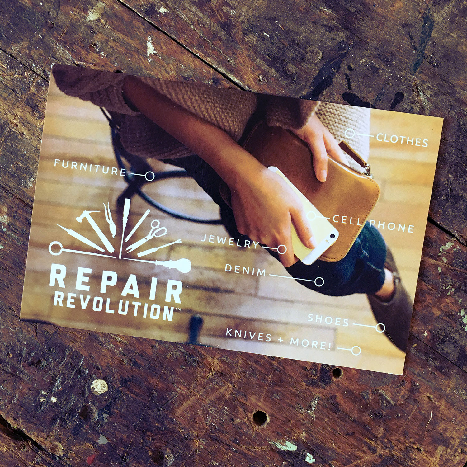 REPAIR REVOLUTION brand + marketing