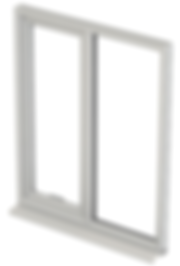 aluminuim tilt turn upvc window
