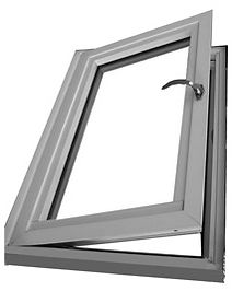 aluminium casement upvc window