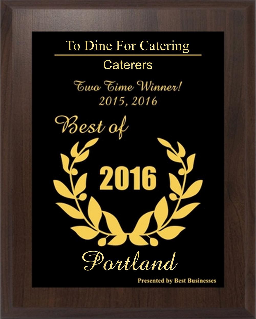 Best catering in portland