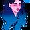 Thumbnail: Blue Girl Sticker