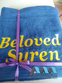 Именное полотенце №61 от halatik.net