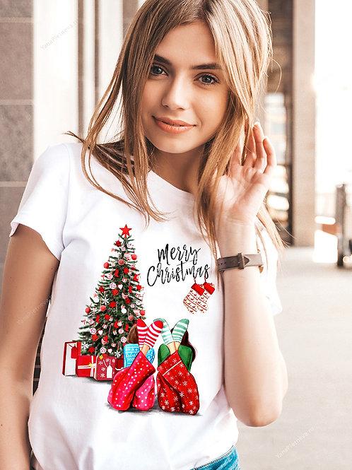 Футболка Рождественская ёлка