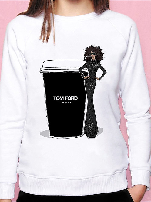 Свитшот TOM FORD Long Black