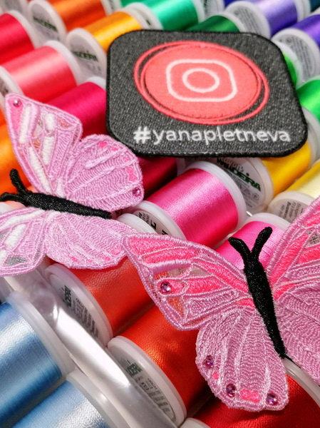 3D брошка Бабочка