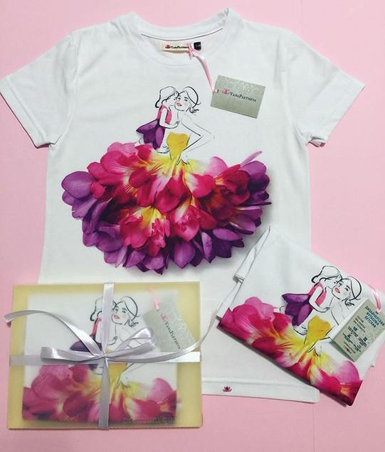 Чудесная детская футболка от Yana Pletne