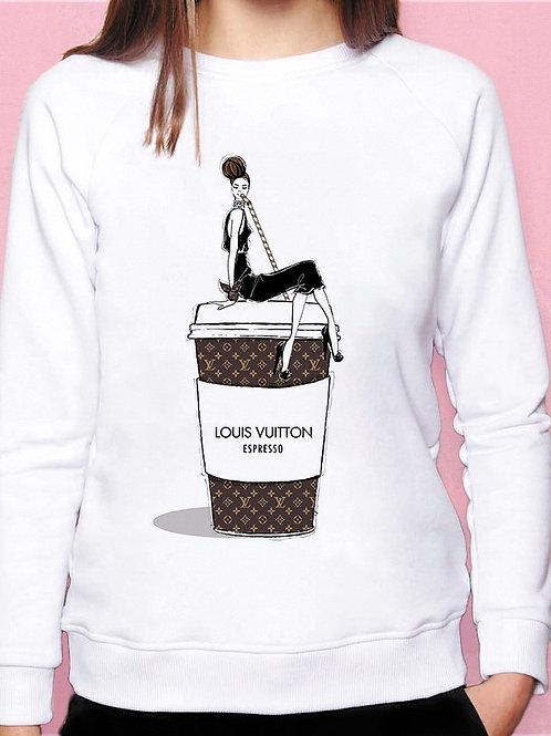 Свитшот LOUIS VUITTON Espresso